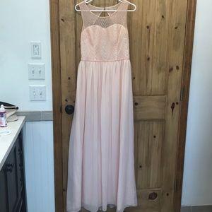 David's bridal dress - beaded top - brand new